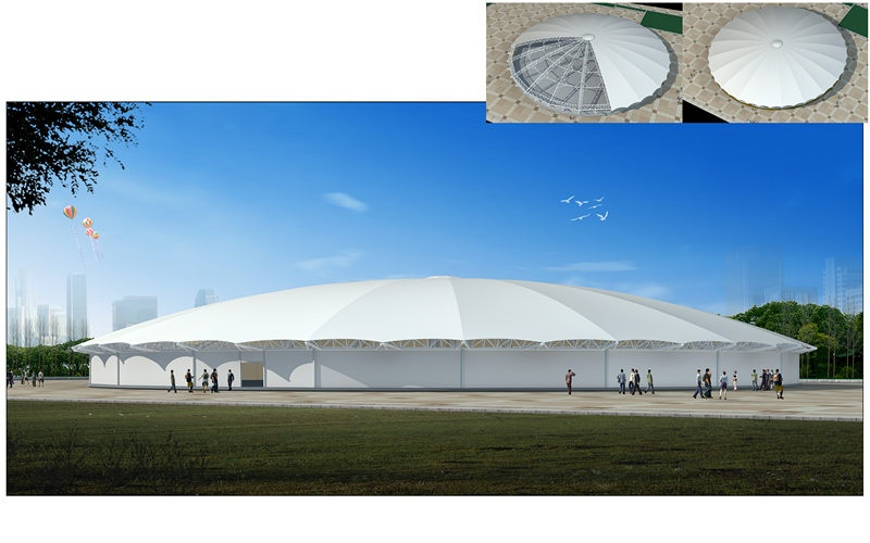Product name  high quality membrane structure round tent for outdoor party event  sc 1 st  Tendars technology Co.Ltd & membrane structure round tent for outdoor party event